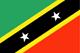 Saint Kitts ve Nevis Flag